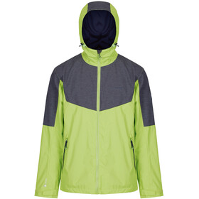 Regatta Alkin II Jacket Men Lime Green/Seal Grey Reflective